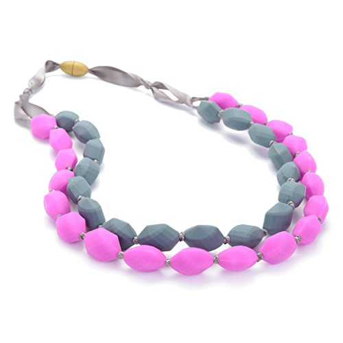 Chewbeads Astor Necklace - Fuchsia