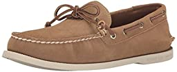 Sperry Top-Sider Men\'s A/O 1 Eye Suede Boat Shoe, Tan, 13 M US