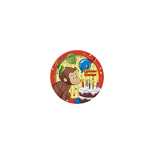 Curious George Cake Plates (8-pack)