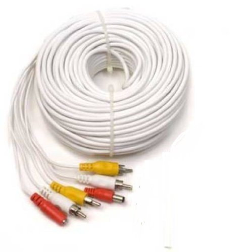 Q-See QS120F Audio Video  Power 120 Foot Extension RCA CableB00028LFOA