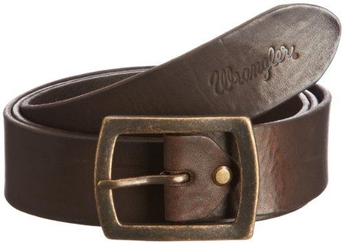Wrangler - Cintura, uomo, Marrone (Brown), 115 cm