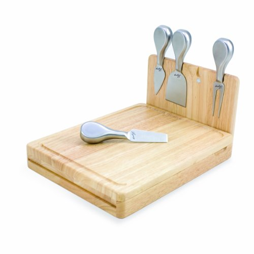 Nfl Green Bay Packers Asiago Folding Cheese Serving Set