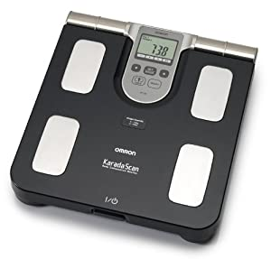 Omron BF508 Body Composition and Body Fat Monitor Bathroom Scale