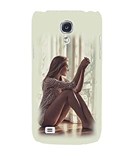 PRINTSWAG GIRL Designer Back Cover Case for SAMSUNG GALAXY S4