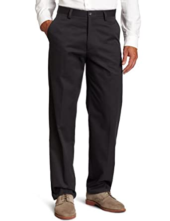 Dockers Men's Easy Khaki D3 Classic Fit Flat Front Pant, Steelhead, 30x30