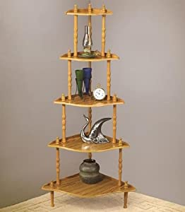 Maricopa Four Tier Etagere Finish: Oak