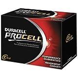 Duracell Procell Alkaline Batteries, C, 12/Box PC1400