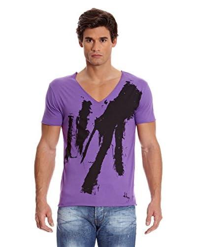 DKNY Camiseta Morado