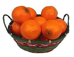 12 Piece Oranges Decorative Fruit