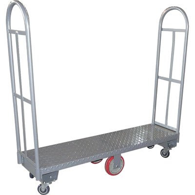 Northern Industrial Tools U-Boat Narrow Aisle Platform Truck - 1980Lb. Capacity