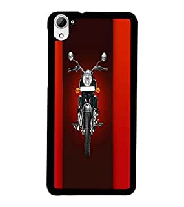 PrintDhaba Bike D-4458 Back Case Cover for HTC DESIRE 826 (Multi-Coloured)