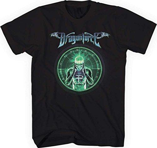 Dragonforce - Top nero Large