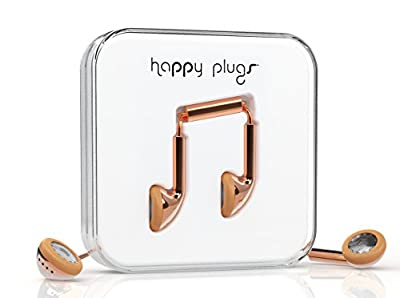 Happy Plugs 7737 Earbuds, Rose Gold