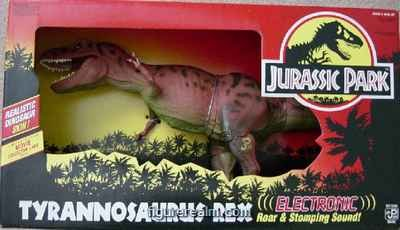 Picture of Kenner Jurassic Park Electronic Tyrannosaurus Rex Action Figure (B000J4HJBA) (Kenner Action Figures)