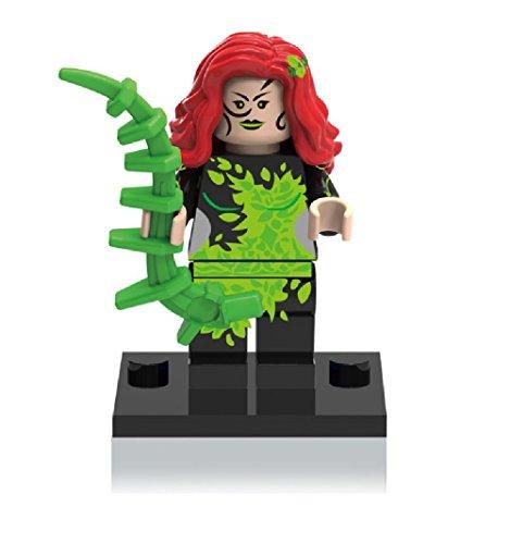LEGO Compatible DC Superheroes Suicide Squad Custom Poison Ivy Minifigure (Lego Custom Iron compare prices)