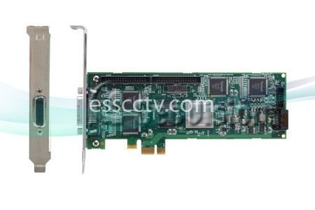 Geovision GV-5016 Hardware compression DVR card, 16ch video, 480 FPS record at D1 high-resolution