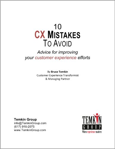 10 Cx Mistakes To Avoid: Advice For Improving Your Customer Experience Efforts