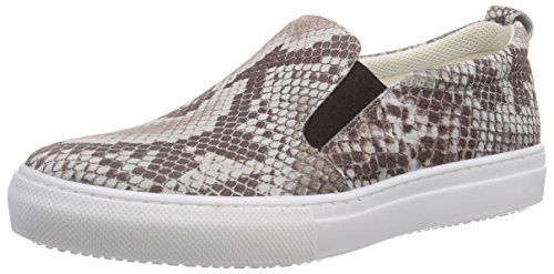 Tamaris 24636, Scarpe chiuse donna, Beige (Beige (NATURE STRUCT. 320)), 40
