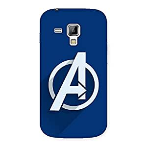 Impressive Circle A Back Case Cover for Galaxy S Duos