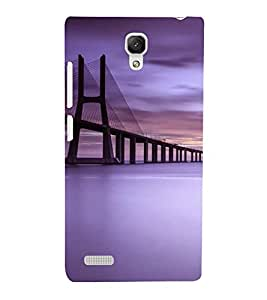 Bandra See Link Bridge 3D Hard Polycarbonate Designer Back Case Cover for Xiaomi Redmi Note :: Xiaomi Redmi Note 4G
