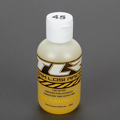 Team Losi Racing 74026 Silicone Shock Oil 45wt 4oz