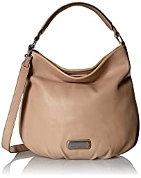 Marc by Marc Jacobs New Q Hillier Hobo Bag, Cameo Nude, One Size