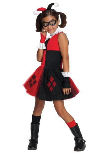Little Girls' Harley Quinn Tutu Costume Small
