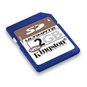 Kingston Technology 2 GB SecureDigital Ultimate Memory Card (SD/2GB-U, Retail Package)