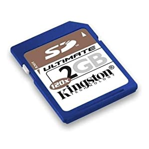 Kingston Technology 2 GB SecureDigital Ultimate Memory Card (SD/2GB-U, Retail Package)