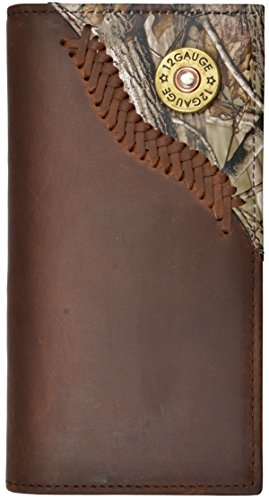 Justin Original Work Boots Men's Wallet Outdoor, Brown, Rodeo (Justin Western Belts compare prices)