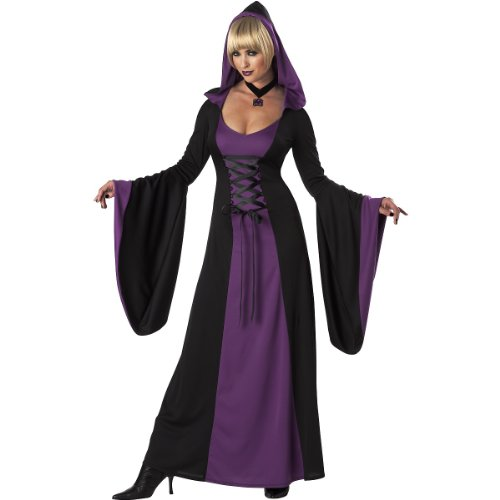 Deluxe Hooded Robe Costume - Small - Dress Size 6-8