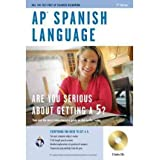 AP Spanish Language (REA Test Preps) (Mixed media product)(English / Spanish) - Common