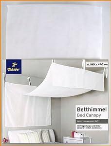 tcm tchibo betthimmel baldachin transparenter stoff 180 x 440 cm k che haushalt. Black Bedroom Furniture Sets. Home Design Ideas
