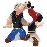 Westland Giftware Popeye Magnetic Popeye and Olive Oyl Salt and Pepper Shaker Set, 4-Inch