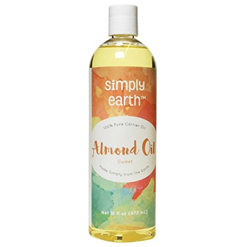 Simply Earth's 100% Pure Sweet Almond Oil - 16 oz (Almond Oil Quart compare prices)