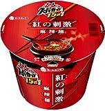 エースコック 大人のスーパーカップ1.5倍 紅の刺激 麻辣麺 1ケース(12個)