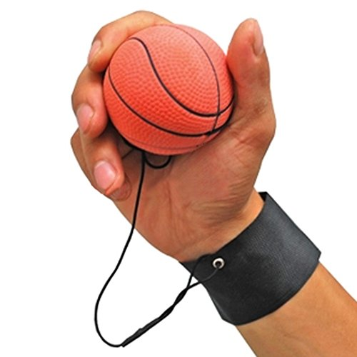 GOGO-Bouncy-Wrist-Band-Ball-Pack-of-6-Assorted-For-Wrist-Exercise