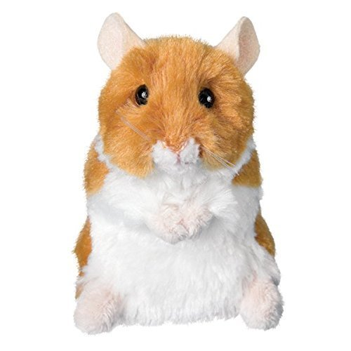 Plush Brushy Hamster 5""