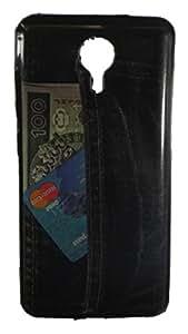 Toppings Designer Soft Printed Cover For Micromax Canvas Nitro 3 E455