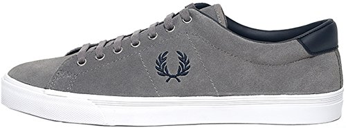 Fred Perry Underspin Suede Falcon Grey B9091C53, Scarpe sportive - 44 EU