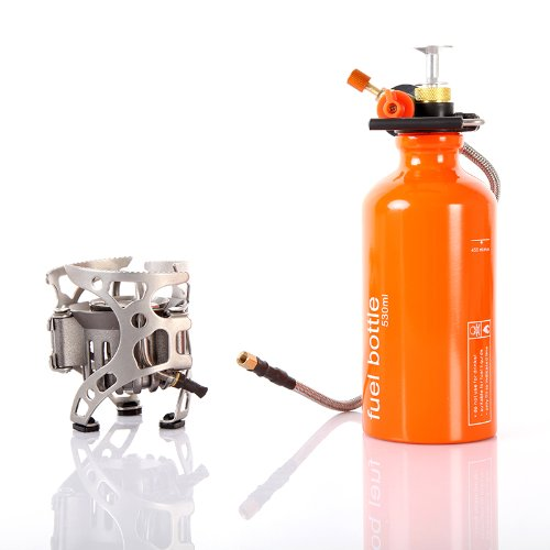 Lixada Portable Multi Fuel Outdoor Backpacking Camping Picnic Stove Oil Gas Furnace (Heating Oil Stove compare prices)