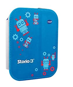 Vtech - 213549 -  Jeu électronique  -  Etui Support Bleu Storio 3