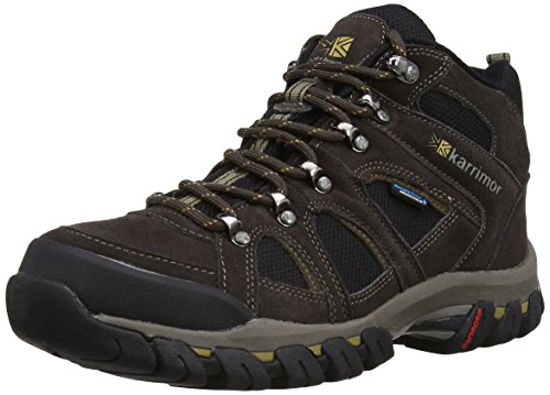 Karrimor K748 Stivali da Trekking, Uomo, Marrone (Dark Brown), 43