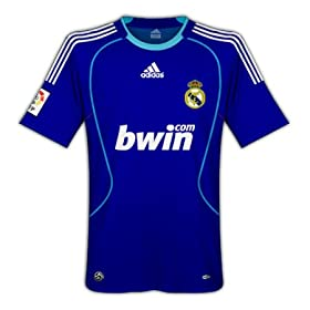 Official Real Madrid 08-09 Blue Jersey (Away)