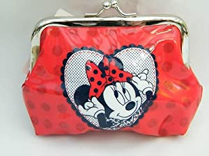 Spotted Disney Minnie Mouse Clipped Coin Purse