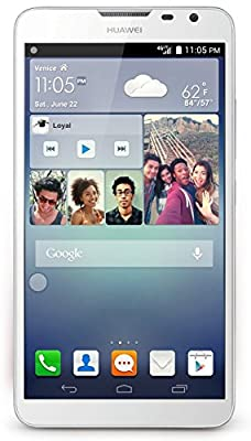 "HUAWEI Ascend Mate2 4G 16GB Unlocked GSM LTE 6.1"" Quad-Core Smartphone w/ 13MP Camera - White"