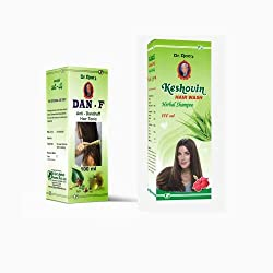 Dr.Rao's Combo Of Dan-F (Anti-Dandruff Hair Tonic)(100 ml) , Keshovin Hair Wash(100 ml)