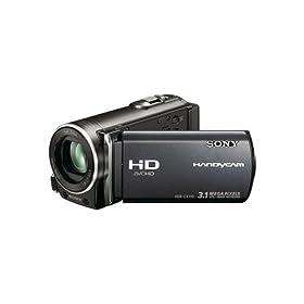 Sony Handycam HDR-CX110 25X Zoom Digital Camcorder - Silver (HDRCX110)