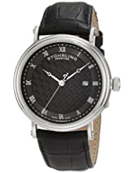 Stuhrling Prestige Men's 358.33151 Swiss-Made Tradition Automatic Date Black Watch