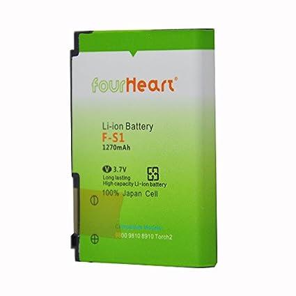 Fourheart-F-S1-1270mAh-Battery-(For-BlackBerry-9800)